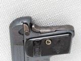 Colt 1908 Vest Pocket Model Hammerless, Cal. .25 ACP, 1911 Vintage, High Polish Blue SOLD - 5 of 8