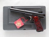 Ruger Mark III 60th Anniversary, Talo Edition, Limited, Cal. .22 LR, 2009 - 1 of 8