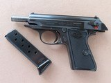 1952 Vintage Manurhin Walther Model PP .32 ACP Pistol w/ Bavarian Police Stamp** 1st Year Production of Manurhin PP ** SOLD - 20 of 25