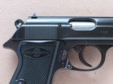 1952 Vintage Manurhin Walther Model PP .32 ACP Pistol w/ Bavarian Police Stamp** 1st Year Production of Manurhin PP ** SOLD - 7 of 25