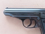 1952 Vintage Manurhin Walther Model PP .32 ACP Pistol w/ Bavarian Police Stamp** 1st Year Production of Manurhin PP ** SOLD - 4 of 25