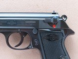 1952 Vintage Manurhin Walther Model PP .32 ACP Pistol w/ Bavarian Police Stamp** 1st Year Production of Manurhin PP ** SOLD - 3 of 25