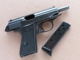 1952 Vintage Manurhin Walther Model PP .32 ACP Pistol w/ Bavarian Police Stamp** 1st Year Production of Manurhin PP ** SOLD - 21 of 25