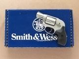 Smith & Wesson Model 638 Bodyguard, Cal. .38 Special +P, NIB