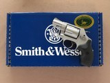 Smith & Wesson Model 637 Airweight Chief, Cal. .38 Special +P, NIB