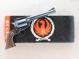 Ruger Super Blackhawk, Old Model with Rare 6 1/2 Inch Barrel, Cal. .44 Magnum, 1966 Vintage