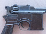 WW1 Mauser C96 Broomhandle Pistol in .30 Mauser** All-Matching and All-Original ** SOLD - 3 of 25