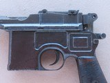 WW1 Mauser C96 Broomhandle Pistol in .30 Mauser** All-Matching and All-Original ** SOLD - 8 of 25