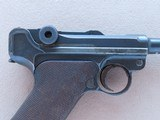 """1923 Commercial DWM Luger w/ Rare """"Safe"""" & """"Loaded"""" Markings** All-Original Example of this Rare Variation ** - 8 of 25"""