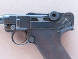 """1923 Commercial DWM Luger w/ Rare """"Safe"""" & """"Loaded"""" Markings** All-Original Example of this Rare Variation ** - 3 of 25"""