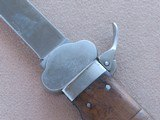 WW2 Nazi Paratrooper Gravity Knife by SMF in Solingen** All-Original and Matching! ** SOLD - 20 of 25