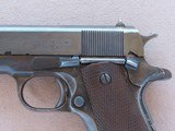 WW2 1943 Ithaca Model 1911A1 .45 ACP Pistol** Very Early Production ** SALE PENDING - 3 of 25