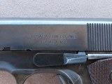 WW2 1943 Ithaca Model 1911A1 .45 ACP Pistol** Very Early Production ** SALE PENDING - 5 of 25