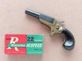 "1960's Vintage Erl Svendsen F.A. Mfg. Co. ""Little Ace"" .22 Short Derringer** Tiny Little Single Shot Pistol ** SOLD"