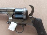 Beautiful & Unique Antique Mariette Brevete Pinfire Double-Action Revolver** Ring Trigger & Serial Number 6 ** - 25 of 25