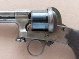 Beautiful & Unique Antique Mariette Brevete Pinfire Double-Action Revolver** Ring Trigger & Serial Number 6 ** - 3 of 25
