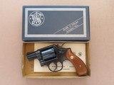 "1969 Vintage Scarce 2"" Barrel Smith & Wesson Model 10-5 in .38 Special w/ Original Box, Owner's Manual & Warranty Card** Minty & Beautiful"