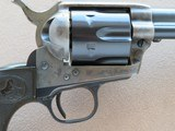 "Colt Single Action Army, 2nd Generation, Cal. .38 Special, 5-1/2"" Barrel, 1957 Vintage - 3 of 21"