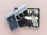 1973 Vintage Norton Budischowsky Model TP-70 .22 LR Semi-Auto Pistol w/ Original Box & Owner's Manual