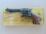 "Uberti 5.5"" Cattleman New Model Revolver in .45 Colt w/ Original Box, Manual, Etc.** Flat Mint & Unfired! ** SOLD"