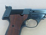 1967 to '68 Vintage High Standard Military Model 106 Supermatic Trophy .22 Pistol in Factory High-Gloss Trophy Blue** Exceptional Example ** - 7 of 25