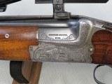 Merkel Suhl Model 211E Combination Gun 12 Ga. & 7X65R Caliber** MFG. 1970 W/ Case & Zeiss Scope** SOLD - 5 of 24
