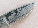 Colt Single Action Army Trans Alaska Pipeline Commemorative with Kershaw Knife, Cal. .45 LC, 1977 Vintage SOLD - 9 of 9