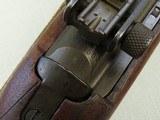 WW2 1943-1944 1st Block Production I.B.M. U.S. M1 Carbine in .30 Carbine** Scarce Benicia Arsenal Rebuild in Early I-Cut Winchester Stock** SOLD - 22 of 25