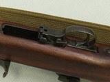 WW2 1943-1944 1st Block Production I.B.M. U.S. M1 Carbine in .30 Carbine** Scarce Benicia Arsenal Rebuild in Early I-Cut Winchester Stock** SOLD - 19 of 25
