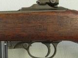 WW2 1943-1944 1st Block Production I.B.M. U.S. M1 Carbine in .30 Carbine** Scarce Benicia Arsenal Rebuild in Early I-Cut Winchester Stock** SOLD - 11 of 25
