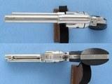 Colt Frontier Scout, Cal. .22 LR, Nickel, 4 3/4 Inch barrel, 1969 Vintage SOLD - 3 of 9