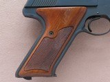 1968 Vintage 3rd Series Colt Woodsman Match Target .22 Pistol** Beautiful Example ** SOLD - 6 of 25