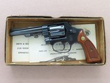 """1969 Vintage 4"""" Smith & Wesson Model 31-1 in .32 S&W Long w/ Original Box & Manuals** 100% Original Beauty ** SOLD - 1 of 25"""