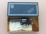 """1969 Vintage 4"""" Smith & Wesson Model 31-1 in .32 S&W Long w/ Original Box & Manuals** 100% Original Beauty ** SOLD - 4 of 25"""
