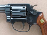 """1969 Vintage 4"""" Smith & Wesson Model 31-1 in .32 S&W Long w/ Original Box & Manuals** 100% Original Beauty ** SOLD - 7 of 25"""