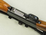1961 Vintage Belgian Browning Auto Take-Down Rifle in .22 Short w/ Redfield 4X Rimfire Scope