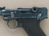 WW1 Vintage 1916 DWM Artillery Model Luger in 9mm Luger** Very Nice Looking Original Finish Example ** - 3 of 25