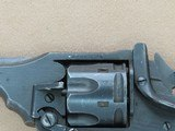 WW2 1943 Vintage Webley & Scott Mark IV Revolver in .38/200 Caliber** Exceptional All-Original & Matching Example! ** SOLD - 11 of 25
