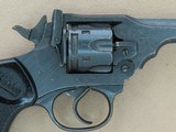 WW2 1943 Vintage Webley & Scott Mark IV Revolver in .38/200 Caliber** Exceptional All-Original & Matching Example! ** SOLD - 7 of 25