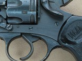 WW2 1943 Vintage Webley & Scott Mark IV Revolver in .38/200 Caliber** Exceptional All-Original & Matching Example! ** SOLD - 10 of 25