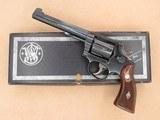 Smith & Wesson K-22 Masterpiece, Pre Model 17, Cal. .22 LR, 6 Inch Barrel, 1957 Vintage