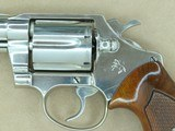 1974 Vintage Nickel Colt Detective Special Third Issue Revolver in .38 Special** Honest and Original Example ** SOLD - 3 of 25