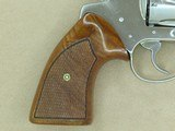 1974 Vintage Nickel Colt Detective Special Third Issue Revolver in .38 Special** Honest and Original Example ** SOLD - 6 of 25