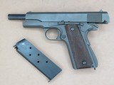 WW2 Remington Rand M1911A1 U.S. Army .45 A.C.P.**W/ Original Holster & Belt** SOLD - 20 of 24