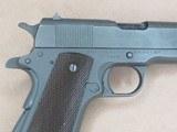WW2 Remington Rand M1911A1 U.S. Army .45 A.C.P.**W/ Original Holster & Belt** SOLD - 9 of 24