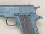WW2 Remington Rand M1911A1 U.S. Army .45 A.C.P.**W/ Original Holster & Belt** SOLD - 4 of 24