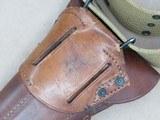 WW2 Remington Rand M1911A1 U.S. Army .45 A.C.P.**W/ Original Holster & Belt** SOLD - 23 of 24