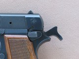 1982 Vintage Browning High Power 9mm Pistol w/ Original Factory Pouch** Honest All-Original Example ** SOLD - 22 of 25