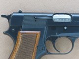 1982 Vintage Browning High Power 9mm Pistol w/ Original Factory Pouch** Honest All-Original Example ** SOLD - 8 of 25