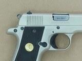 1985 Vintage Colt Mk.IV Series 80 Government Model .380 ACP Pistol w/ Coltguard Finish (Matte E-Nickel)** Handsome All-Original Colt ** - 8 of 25